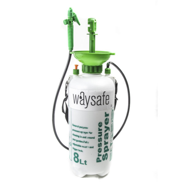 Waysafe Pressure Sprayer 8 Litre