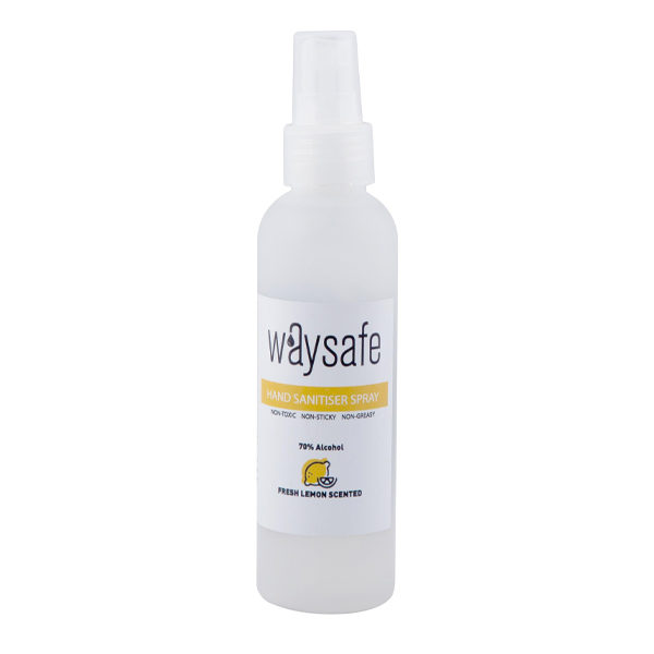 Waysafe Hand Sanitiser Spray 70% Lemon Scented 150ml