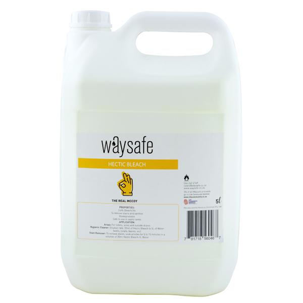 Waysafe Hectic Bleach 5 Litre