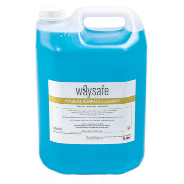 Waysafe Hygiene Surface Cleaner 5 Litre